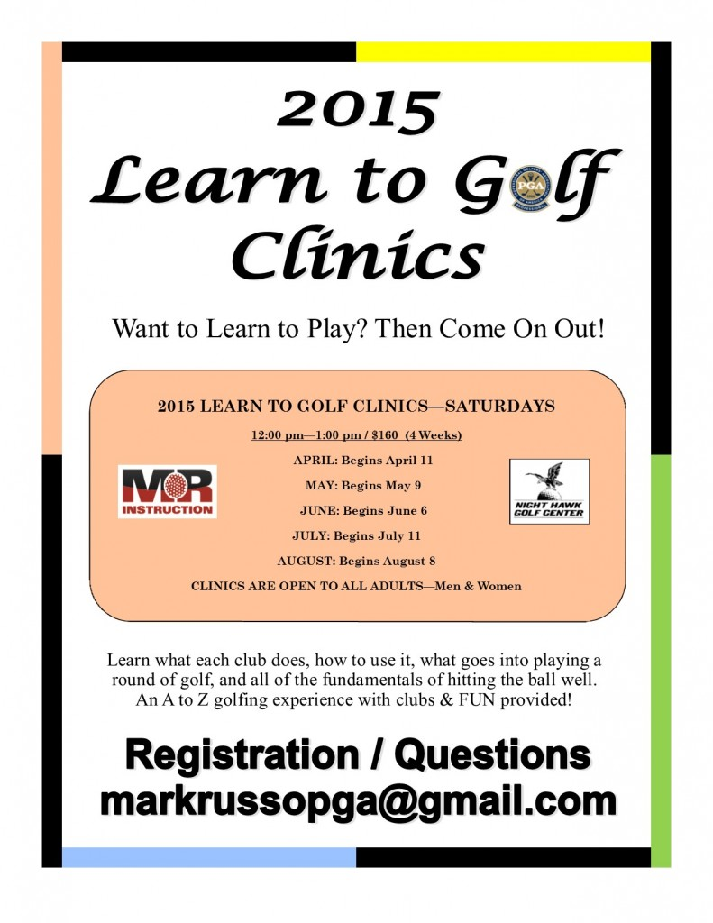 2015 Learn to Golf